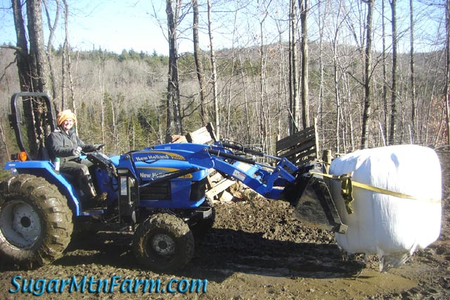 New Holland Tractor | Sugar Mountain Farm on