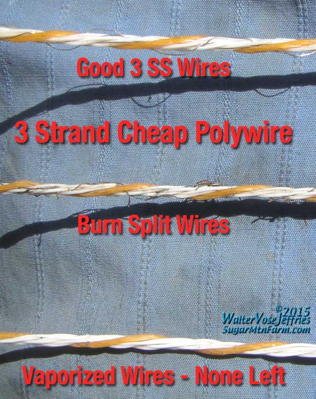 Lightning Poly Wire | Sugar Mountain Farm