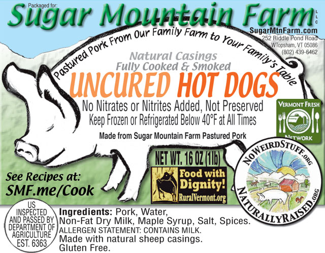 All Natural Hot Dogs No Nitrates