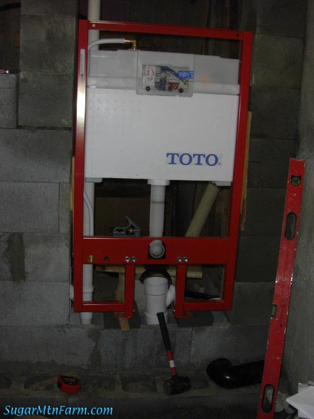 Toto Toilet Tank Secured Sugar Mountain Farm